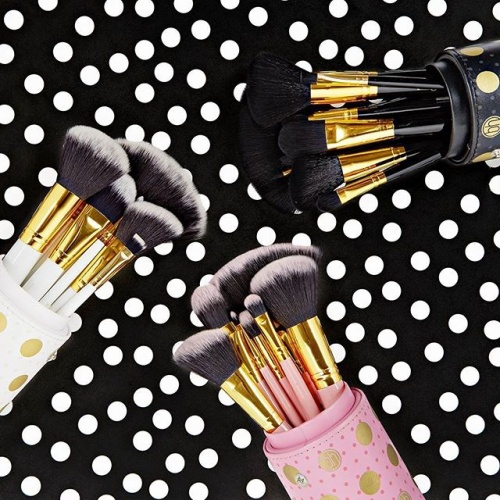 2cedef0a2fedb BH Cosmetics Dot Collection - 11 Piece Brush Set Black